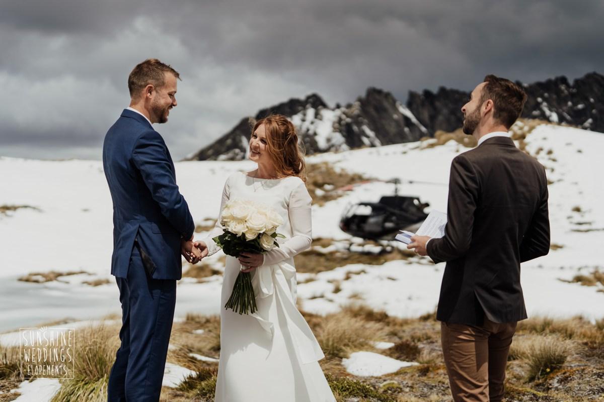 lake isobel elopement wedding